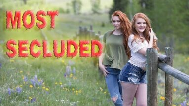 Top 10  most secluded towns in the United States.  Thumbnail model:@dustiebayemua