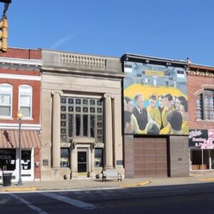 Small Towns Of Indiana - Exploring America's First Road 'The National Road' US 40 - Hoosiers Gym