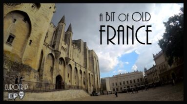 the AWESOME OLD TOWNS of UZES, AVIGNON and ARLES - VAN LIFE FRANCE