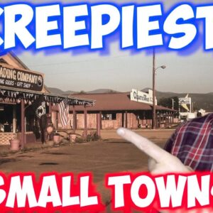 British Guy Reacting to Top 10 CREEPIEST Small Towns in The US
