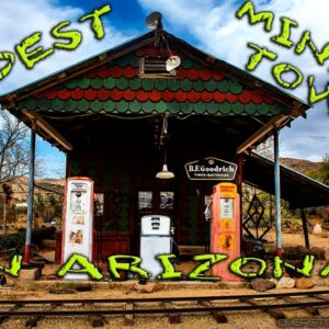 Cruising through one of the oldest Mining Towns in the US - November 2020 in 4K