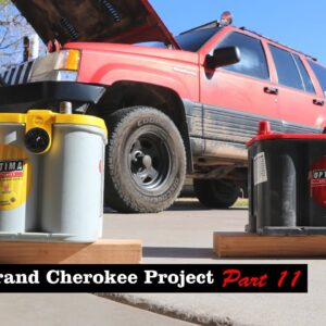 Jeep Grand Cherokee Project (Part 11) -- Dual Battery Install