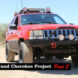Jeep Grand Cherokee Project (Part 8) - Front Bumper