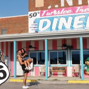 Route 66, Chicago - Oklahoma City - Old Towns