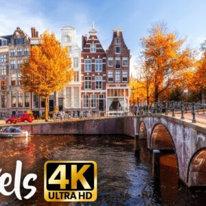 Stunning European Cities in 4K - Travel Film  - Historic Old Towns