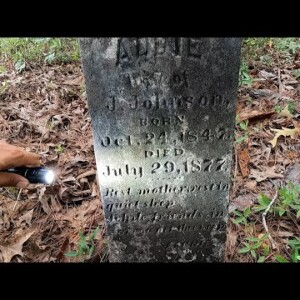 WE FOUND LOST GRAVES IN THE WOODS OF GEORGIA!