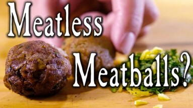 Budget Cooking in 1755 - Meatballs Two Ways