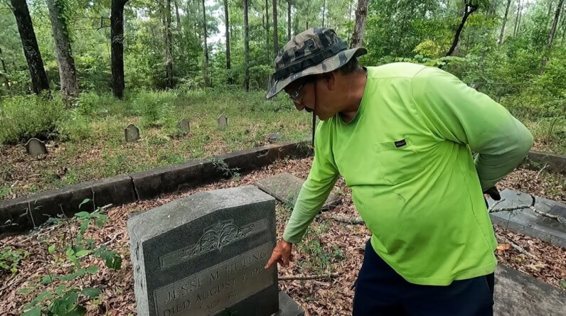 A FIRST BORN SON AND ACCUSED MURDERER IN THIS OLD FORGOTTEN CEMETERY (PART 2)