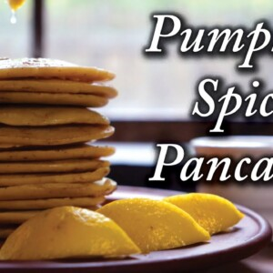 Pumpkin Spice Pancakes In The 18th Century? 300 Year Old Recipe